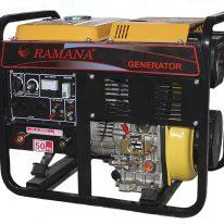 Автономный сварочный генератор 5GF-CXESW JINLONG 5 кВт/6,3кВа, с электростартером, дизельный