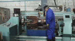Восстановление цилиндрических поверхностей при помощи наплавки под слоем флюса